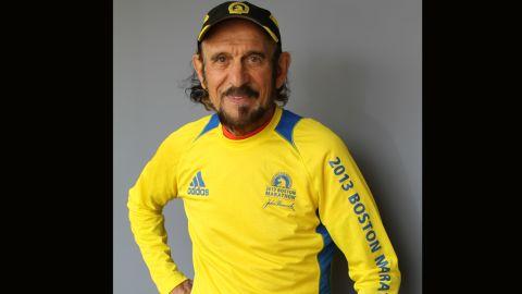 This year will be John Farah's 19th Boston Marathon.