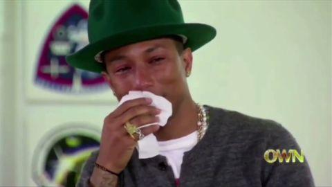 sot pharrell cries oprah prime interview_00001127.jpg
