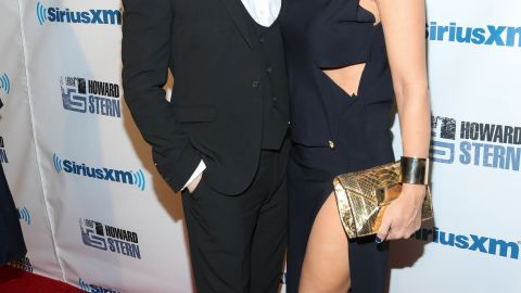"""Donnie Wahlberg and Jenny McCarthy attended Howard Stern's 2014 """"Birthday Bash"""" in New York City in January."""