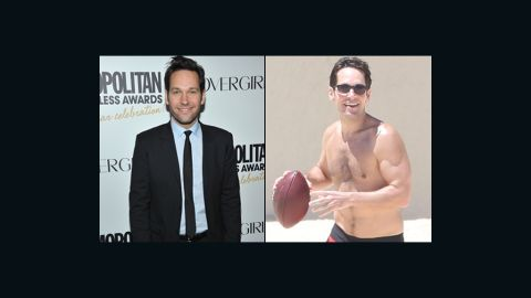 """With <a href=""""http://marquee.blogs.cnn.com/2013/12/19/paul-rudd-as-ant-man/?iref=allsearch"""" target=""""_blank"""">his new role as a superhero in Marvel's """"Ant-Man,""""</a> it looks like Paul Rudd is bulking up. The actor was spotted on the beach in Mexico with some very noticeable muscles, leaving onlookers curious if he's been hitting the gym for the gig. (Or perhaps those pecs were there all along.)"""