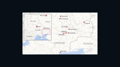 Unrest in eastern Ukraine