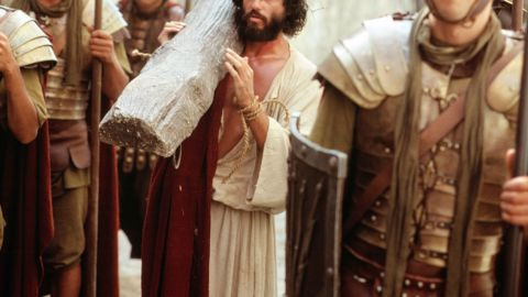 """The 1980 TV movie """"The Day Christ Died"""" starred a pre-""""Princess Bride"""" Chris Sarandon as Jesus. While many biblically based films like to explore Jesus' entire life or a large chunk of his adulthood, """"The Day Christ Died"""" only required Sarandon to portray him during the crucial moments of his arrest and crucifixion."""