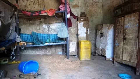 """A deserted student hostel is shown on August 6, 2013, after gunmen<a href=""""http://edition.cnn.com/2013/07/07/world/africa/nigeria-school-shooting/""""> stormed a school in Yobe state</a>, killing 20 students and a teacher, state media reported."""