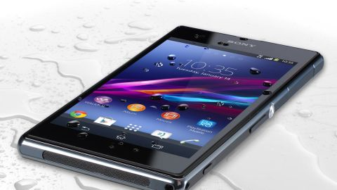 This is the second generation of the Sony phone with an unusual claim to fame: The company says it's water-resistant, for up to 30 minutes. It also boasts a 20-megapixel camera, which Sony claims has the industry's largest sensor.