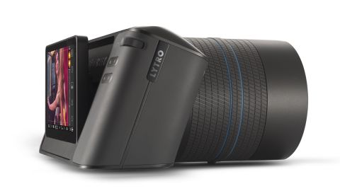 Lytro's Illum camera takes interactive photographs that can be refocused after you shoot them. It will be available in July.