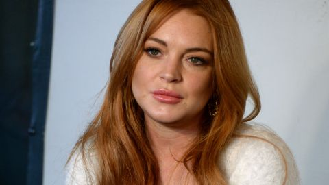 Lindsay Lohan has been visiting refugees in Turkey and sharing images on social media.
