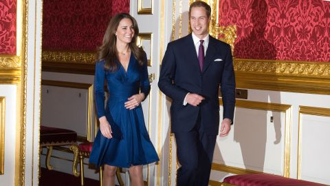 When William and Kate arrived to pose for photographs at St James Palace in November 2010, the designer of her dress Daniella Issa Helayel may have been unprepared for the global star it would make her almost overnight.
