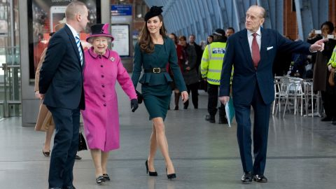 While the British press report that Kate's stylists plan her wardrobe up to two months ahead, shoppers had just 60 minutes before  this teal peplum suit by L.K. Bennett -- which she wore to accompany the Queen and The Duke of Edinburgh on an official visit to Leicester in March 2012 -- sold out entirely.