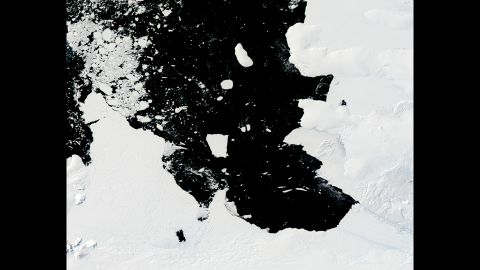 By February 2014, B31 was headed to the Amundsen Sea.