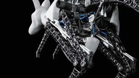"""No prizes for guessing what inspired this roo-bot. The <strong>BionicKangaroo</strong> improves the efficiency of legged robots by <a href=""""http://spectrum.ieee.org/automaton/robotics/robotics-hardware/festo-newest-robot-is-a-hopping-bionic-kangaroo"""" target=""""_blank"""" target=""""_blank"""">emulating the jumping behavior of Australia's bounciest residents</a>. Researchers hope that <strong>kangaroos'</strong> ability to effectively store energy from one leap to the next can show them how to recover energy in industrial processes."""