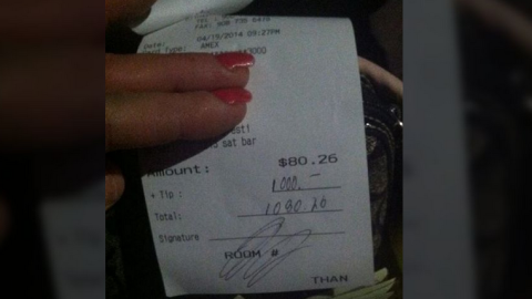 The Holiday Inn confirmed the tip was legitimate