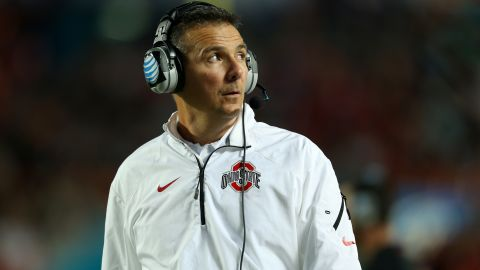 """<strong>Ohio State head football coach Urban Meyer:</strong> """"Students should get more than what they get,"""" Meyer told the Ohio State student newspaper, The Lantern. """"But it gets so complicated. ... (T)o say they should go out and get their own shoe contracts and things ... I start hearing that and I'm like, 'Whoa. What could that do for this great sport? And really, what would that do for college athletics as a whole?"""""""