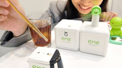 """<strong>BioBatteries </strong>which run off sugary liquids <a href=""""http://www.extremetech.com/extreme/175137-sugar-powered-biobattery-has-10-times-the-energy-storage-of-lithium-your-smartphone-might-soon-run-on-enzymes"""" target=""""_blank"""" target=""""_blank"""">can now rival lithium-ion cells in energy storage</a>. This little car, made by Sony and toy manufacturers Tomy, runs off fizzy soda. Nearly all living organisms generate energy from glucose, and now your appliances can too."""