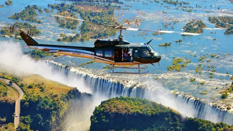 """There's more to wildlife tourism than safaris. Although 96% of operators questioned did offer them, bird watching tours, whale watching and a variety of treks also came under the UNWTO's census. One of the most popular non-safari activities in Zambia is a visit to Victoria Falls -- 30% of tourists will make the trip to the 1,708-meter wide falls, the """"<a href=""""http://zimbabwe.places.co.za/victoria-falls.html"""" target=""""_blank"""" target=""""_blank"""">largest curtain of water in the world.</a>"""""""