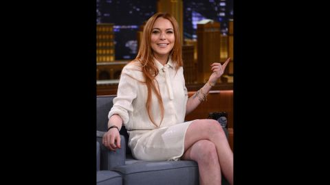 """In the years since """"Mean Girls"""" was released, Lohan has become as well-known for her appearances in the courtroom as in films. In 2014 she embarked on a comeback attempt that included a docu-series on OWN and appearances like this one on """"The Tonight Show Starring Jimmy Fallon."""" These days Lohan spends most of her time overseas and has made headlines for her humanitarian relief work with Syrian refugees. She also landed a role on season 2 of the British comedy """"Sick Note."""""""