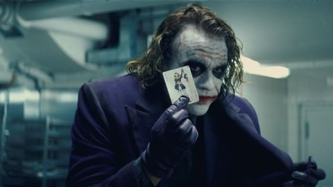 """The """"Movie Guide"""" doesn't always agree with the consensus. """"Batman"""" fans generally rate <strong>""""The Dark Knight""""</strong> (2008) the best of Christopher Nolan's trilogy, but not Maltin's book. """"(Heath) Ledger is a vivid Joker but his character is so sick it's difficult to derive any pleasure from watching him,"""" says the review, giving the film two stars. Both """"Batman Begins"""" and """"The Dark Knight Rises"""" rate higher."""