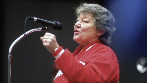 """Former Cincinnati Reds owner Marge Schott was suspended from Major League Baseball in 1993 and 1996 for several controversial comments, among them racial epithets against players. In a 1996 interview, she said this about Adolf Hitler: """"Everybody knows that he was good at the beginning, but he just went too far."""" She was forced to sell her controlling interest of the Reds in 1999."""