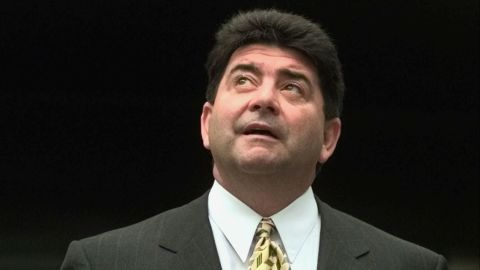 """The NFL <a href=""""http://bleacherreport.com/articles/1376909-eddie-debartolo-a-football-life-examining-legends-career-and-legacy"""" target=""""_blank"""" target=""""_blank"""">suspended San Francisco 49ers owner Eddie DeBartolo Jr.</a> for his role in a racketeering scandal tied to riverboat casino licenses. DeBartolo pleaded guilty in 1998 to felony charges of failing to report an extortion case, according to Bleacher Report. By 2000 <a href=""""http://bleacherreport.com/articles/1921626-why-eddie-debartolo-absolutely-deserves-hall-of-fame-induction"""" target=""""_blank"""" target=""""_blank"""">he was forced to cede control of the team to his sister</a>."""