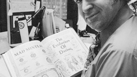 """<a href=""""http://www.cnn.com/2014/04/30/showbiz/mad-magazine-editor-dies/index.html"""">Al Feldstein</a>, who guided Mad magazine for almost three decades as its editor, died on April 29, according to a Montana funeral home. He was 88."""