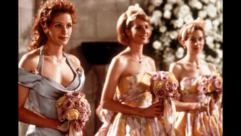 """<strong>""""My Best Friend's Wedding"""":</strong> Speak now or forever hold your peace. And for the record now should be weeks, months or years before your longtime crush's wedding to someone else. In this 1997 comedy, Julia Roberts plays a woman who chooses to ignore this advice and realizes she's in love with her male best friend at a most inconvenient time."""