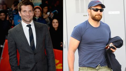 """Bradley Cooper has packed on muscle (and quite the beard) since we saw him in March. The speculation is that Cooper's drastic physical transformation is for his role in 2015's """"American Sniper,"""" in which he will play Navy SEAL Chris Kyle."""