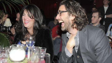 Lewinsky and literary agent Luke Janklow attend a benefit for the American Cancer Society in 2011.