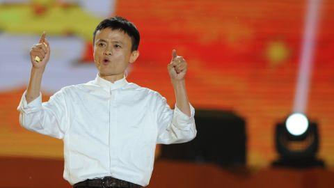 Alibaba founder Jack Ma seen in 2013