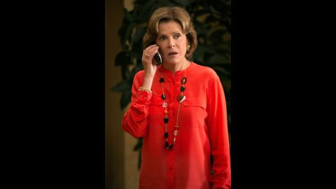 """Lucille Bluth (Jessica Walter) doesn't even try to hide her brittleness. The """"Arrested Development"""" matriarch abuses underlings -- that would be almost everybody -- and has been known to enjoy a drink. Or several."""
