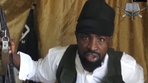 """<a href=""""http://www.cnn.com/2014/05/07/world/africa/abubakar-shekau-profile/"""" target=""""_blank"""">Abubakar Shekau</a> is the leader of Boko Haram, a militant Islamic group working out of Nigeria. Little is known about the religious scholar. He operates in the shadows, leaving his underlings to orchestrate his mandates. A reward of up to $7 million has been offered by the U.S. government."""