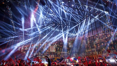 COPENHAGEN, DENMARK - MAY 06: A general view during the first Semi Final of the Eurovision Song Contest 2014 on May 6, 2014 in Copenhagen, Denmark. (Photo by Ragnar Singsaas/Getty Images)