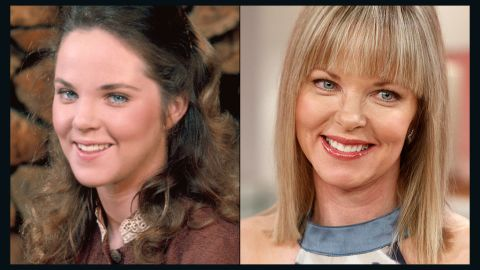 """Melissa Sue Anderson's character, Mary Ingalls, arguably suffered the most hardship of all the """"Little House"""" characters. (Not an easy feat, considering the series tagline easily could have been:""""Get Doc Baker!"""") Poor Mary was stricken blind at a young age and later lost her baby in a fire. Today, Anderson, 53, lives in Montreal with her husband, son and daughter."""