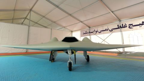 Iran says it built its drone by reverse-engineering the U.S. drone.