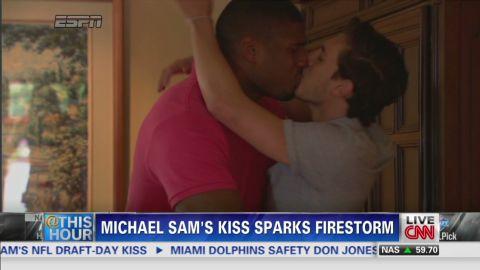 sot ath michael sam kiss reax lz granderson_00001506.jpg