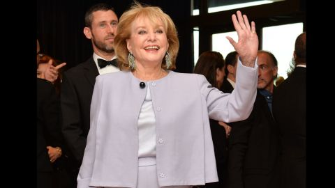 After a journalism career spanning a half-century, Barbara Walters retired from TV journalism on May 16. We look back on the career of Walters, shown here at the White House Correspondents' Association annual dinner in Washington on May 3.