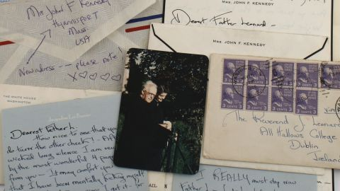 Jackie Kennedy wrote letters to a priest over a 14-year period.