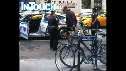 """Alec Baldwin is taken into custody by New York police after allegedly riding his bike the wrong way on Fifth Avenue on Tuesday, May 13. It's not the first time the """"30 Rock"""" star has found his personal matters aired in public."""