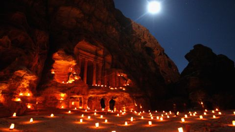"""Regardless, the study's leader notes """"the lighting is spectacular"""" at Petra during the summer and winter solstices and the equinox."""