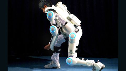 Japanese company Cyberdyne has developed its Hybrid Assistive Limb (HAL) suit, which can help elderly and disabled people with lifting.