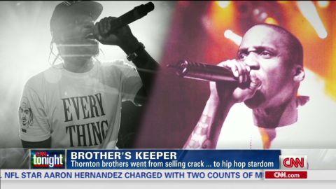 cnn tonight thornton brothers rap drugs faith pusha t no malice_00003824.jpg