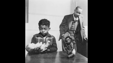 """One of the key pieces presented against segregation was psychologist Kenneth Clark's """"Doll Test"""" in the 1940s. Black children were shown two dolls, identical except for color, to determine racial perception and preference. A majority preferred the white doll and associated it with positive characteristics. The court cited Clark's study, saying, """"To separate [African-American children] from others of similar age and qualifications solely because of their race generates a feeling of inferiority as to their status in the community that may affect their hearts and minds in a way unlikely ever to be undone."""""""