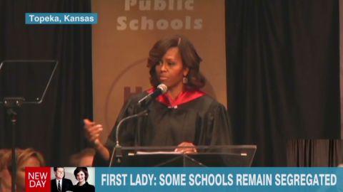 newday intv brinkley michelle obama segregation school remarks_00013508.jpg