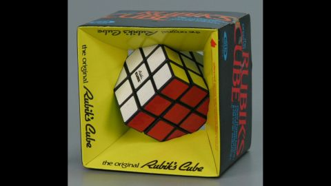 """The Rubik's Cube: Since its invention by Hungarian professor Erno Rubik in 1974, an estimated 350 million Rubik's Cubes have been sold, and about one in seven people alive has played with the cube, <a href=""""http://rubiks.com/history"""" target=""""_blank"""" target=""""_blank"""">according to its website.</a>"""