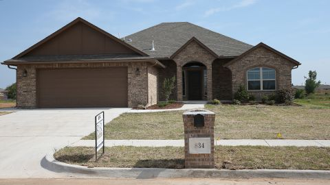 <strong>Now: </strong>A new house is seen at the address on May 18, 2014.