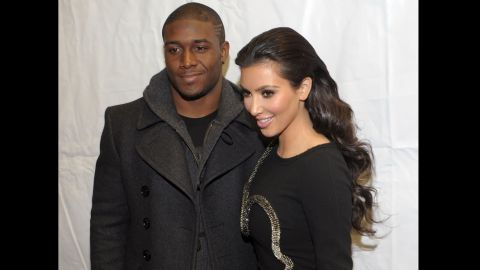 """... The infamous Reggie Bush, whom Kardashian dated from 2007 to 2010. Those also happened to be the years Kardashian's fame took off like a rocket after 2007 brought a sex tape release, an E! reality show and the cover of Playboy. The speculation is that <a href=""""http://www.people.com/people/article/0,,20353935,00.html"""" target=""""_blank"""" target=""""_blank"""">Kardashian's busy career and camera-friendly lifestyle</a> wasn't compatible with Bush."""