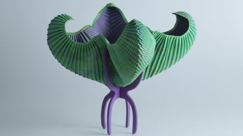 """The possibilities for origami keep expanding. """"The most major change over the past twenty years is that artists have begun to write software to help them design their forms,"""" Nguyen says. """"Others have taken the style in a different direction, opting for more abstract, concept-driven structures than representational models."""""""