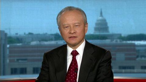 intv amanpour china ambassador america Cui Tiankai hacking_00013505.jpg