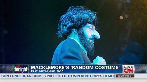 cnn tonight macklemore costume controversy_00004506.jpg