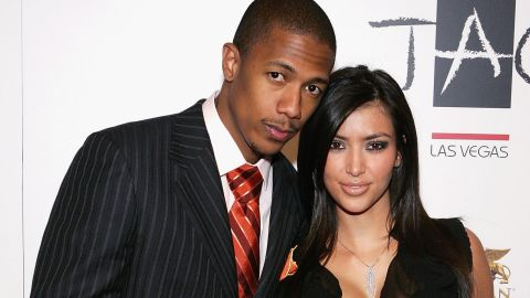 """Nick Cannon says his 2006 fling with Kardashian was brought to an end by her sex tape. """"She told me there was no tape,"""" Cannon, now married to Mariah Carey and a father of twins, told Howard Stern in 2012. """"If she might have been honest with me I might have tried to hold her down and be like 'That was before me' because she is a great girl. ... I still think she had a part to play (with its release)."""""""
