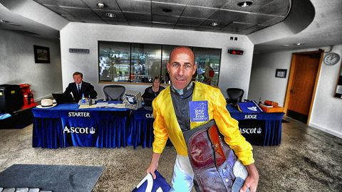 One of the more colorful figures on the flat racing scene, the 51-year-old has embraced his second coming as though each race is his last.