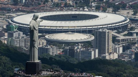 The Maracana stadium in Rio de Janeiro will host the opening ceremony for Brazil 2016. The Games run from 5-21 August.
